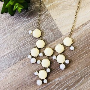 J. Crew Bubble Statement Necklace
